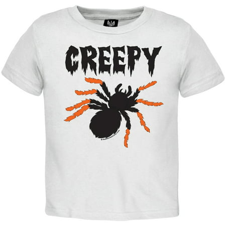 Halloween Creepy Spider Toddler T-Shirt