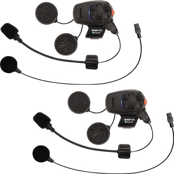 Sena SMH5 Communication System Single Unit Kit Black