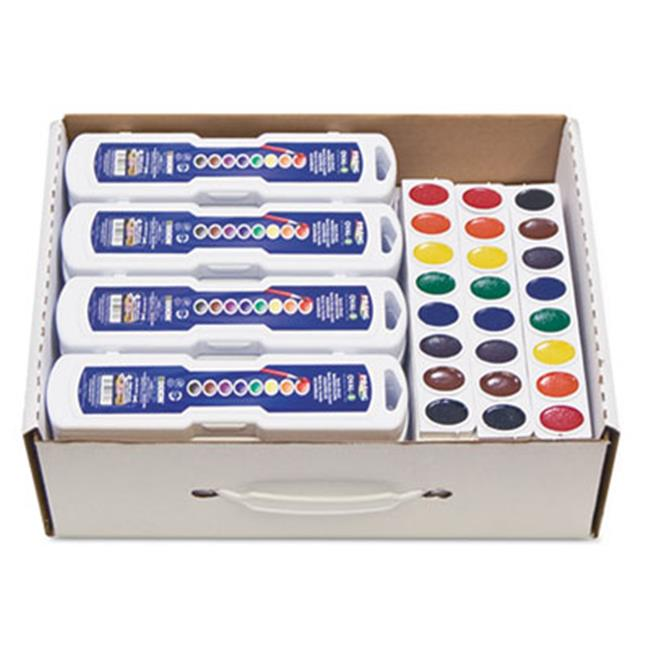 Dixon Ticonderoga 08020 Professional Watercolors, 8 Assorted Colors