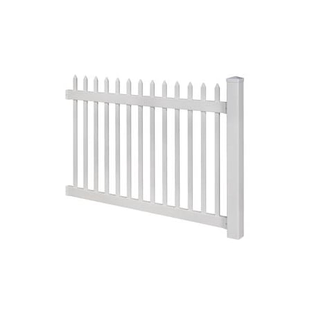 Wam Bam No-Dig Fence 4 ft. H x 6 ft. W Nantucket (Best Way To Remove Concrete Fence Posts)