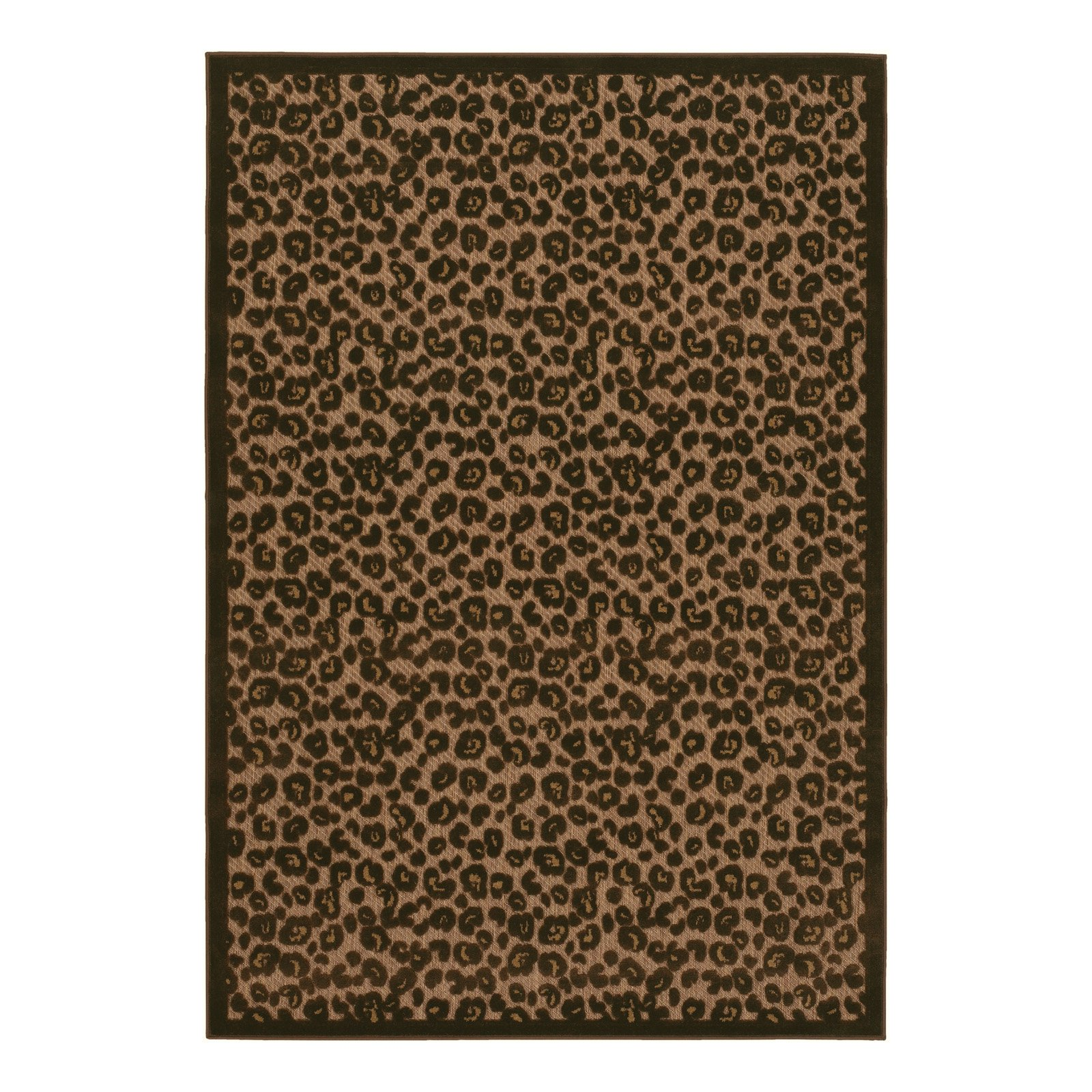 Couristan Urbane Captivity Tan & Brown In/Out Rug, 2'x3'7' - 57343435020037T