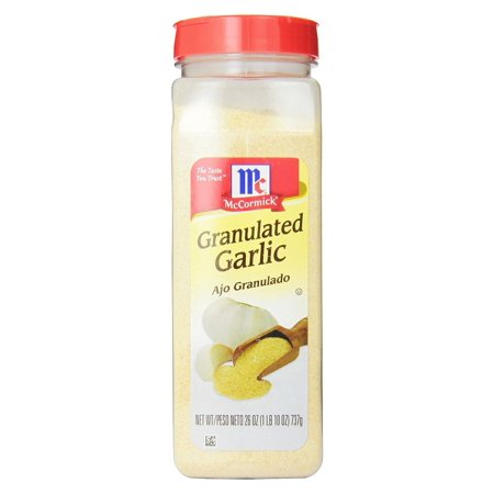 Product of McCormick Granulated Garlic, 26 oz.