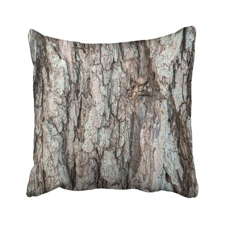 RYLABLUE Brown Abstract This Is Beautiful Patterned Bark Closeup Detail Forest Line Macro Pillowcase Pillow Cushion Cover 16x16 inches - image 1 de 1