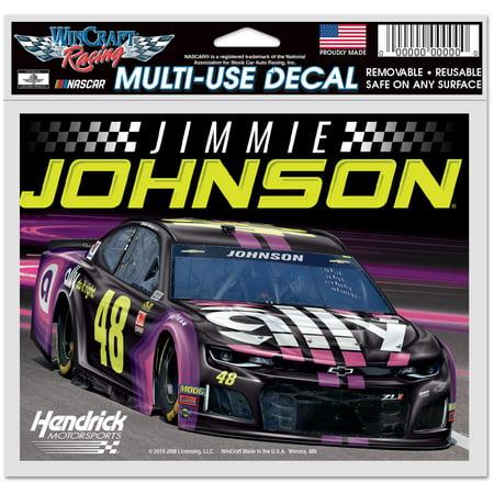 Wincraft Jimmie Johnson Decal - Jimmie Johnson WinCraft 4.5