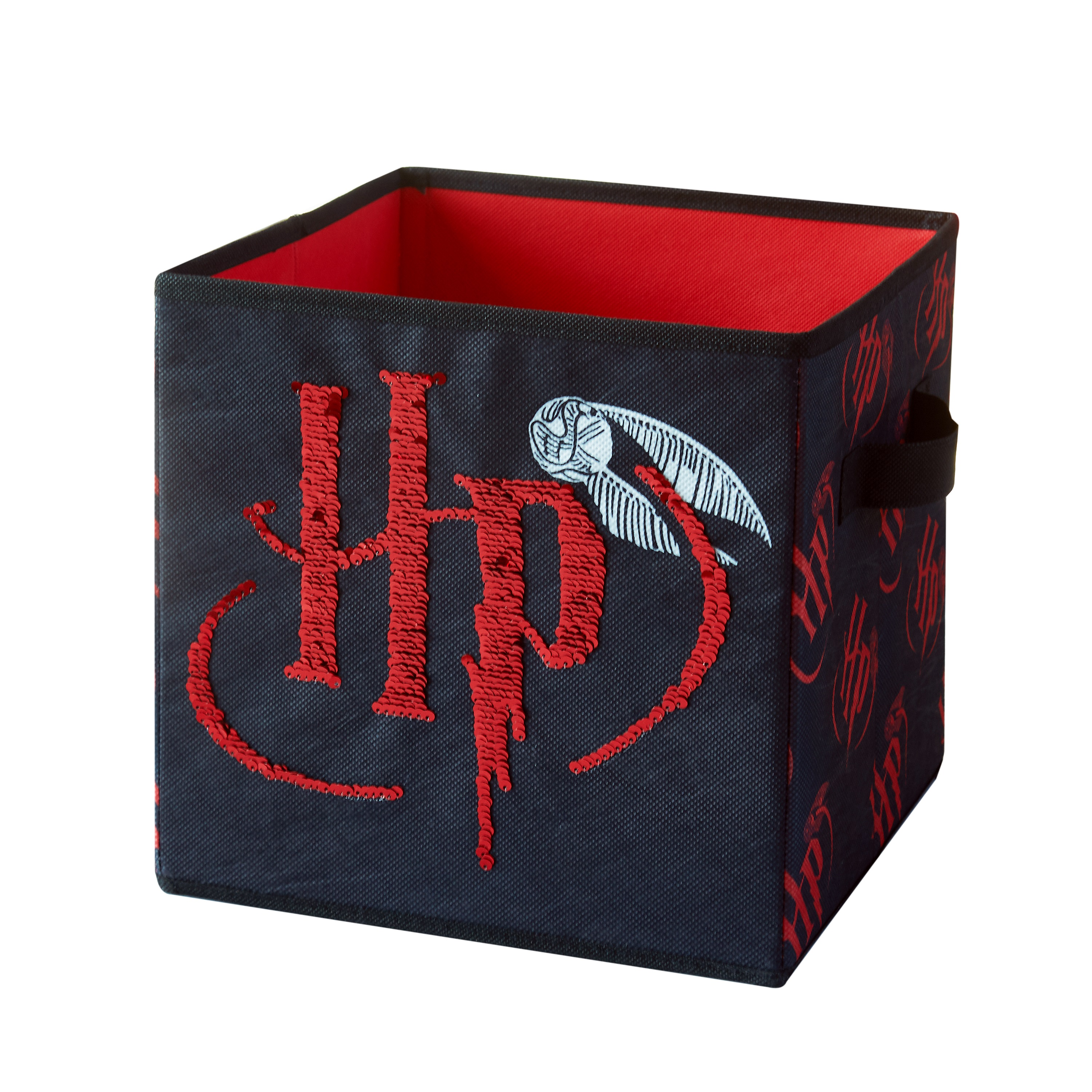 Harry Potter Reversible Sequin Storage Cube