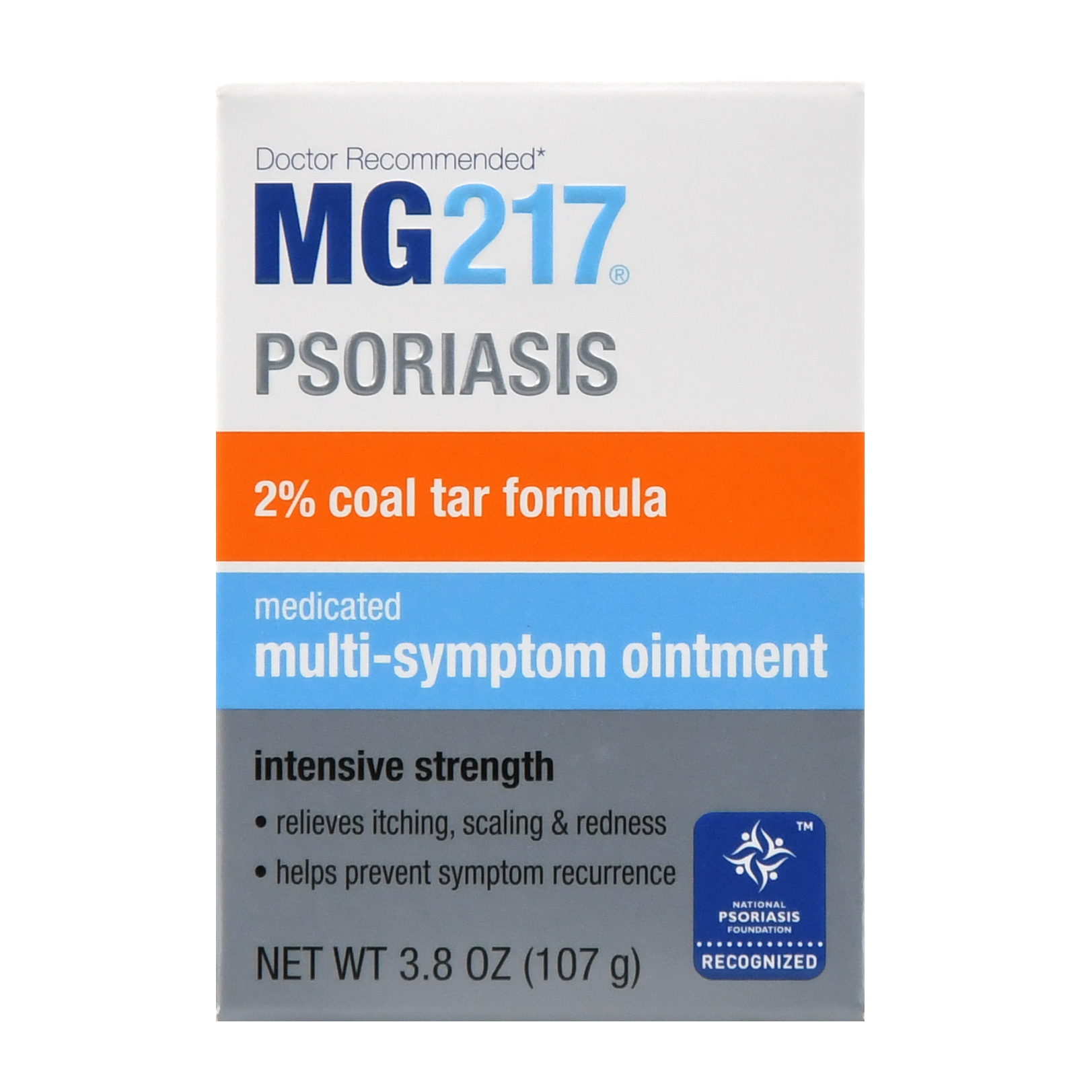 MG217 Medicated Multi-Symptom Ointment, Intensive Strength 3.8 oz