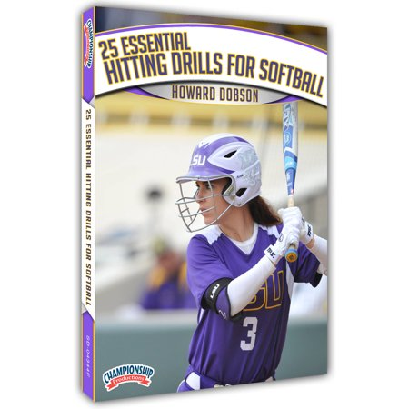 25 Essential Hitting Drills for Softball DVD (Indoor Hitting Drills)