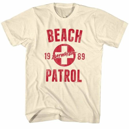 Baywatch Tv Beach Patrol Adult Short Sleeve T Shirt](Baywatch Costume Ideas)