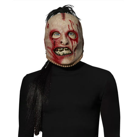American Horror Story Bloody Face Mask Adult Costume Mask - Horror Face Mask
