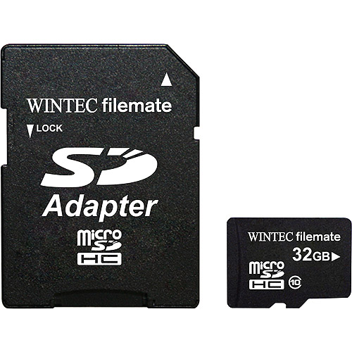 Wintec FileMate Mobile Professional 32GB microSDHC Class 10 Memory Card