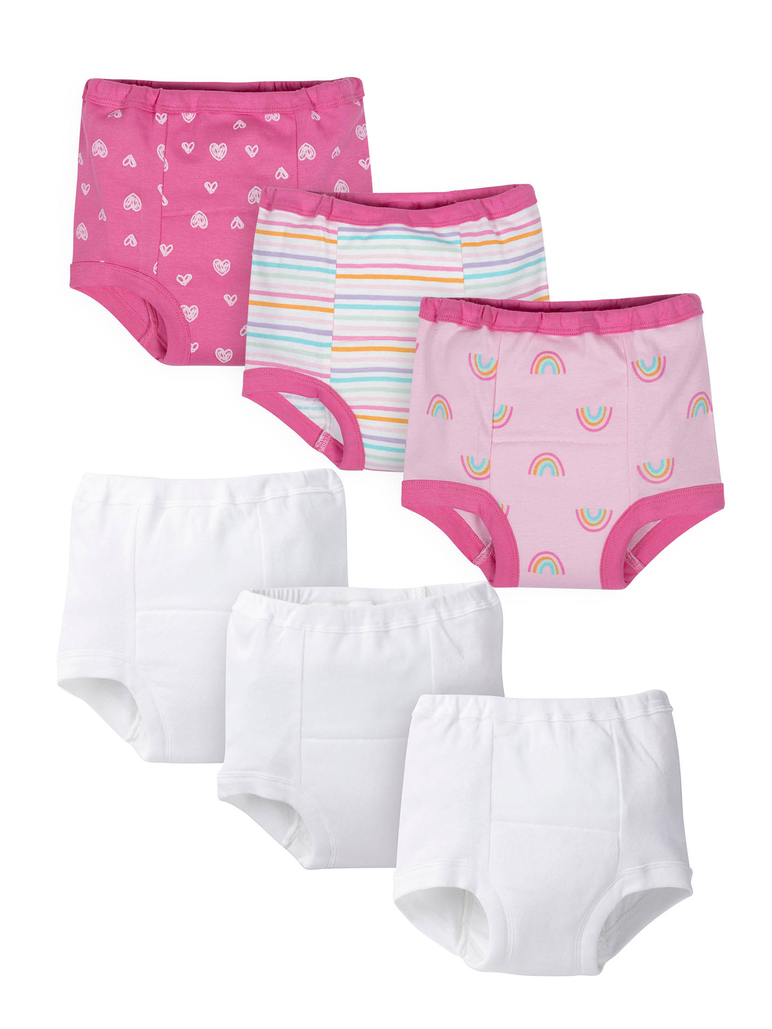 Gerber - Gerber Organic Toddler Girls Training Pants, 6 ...