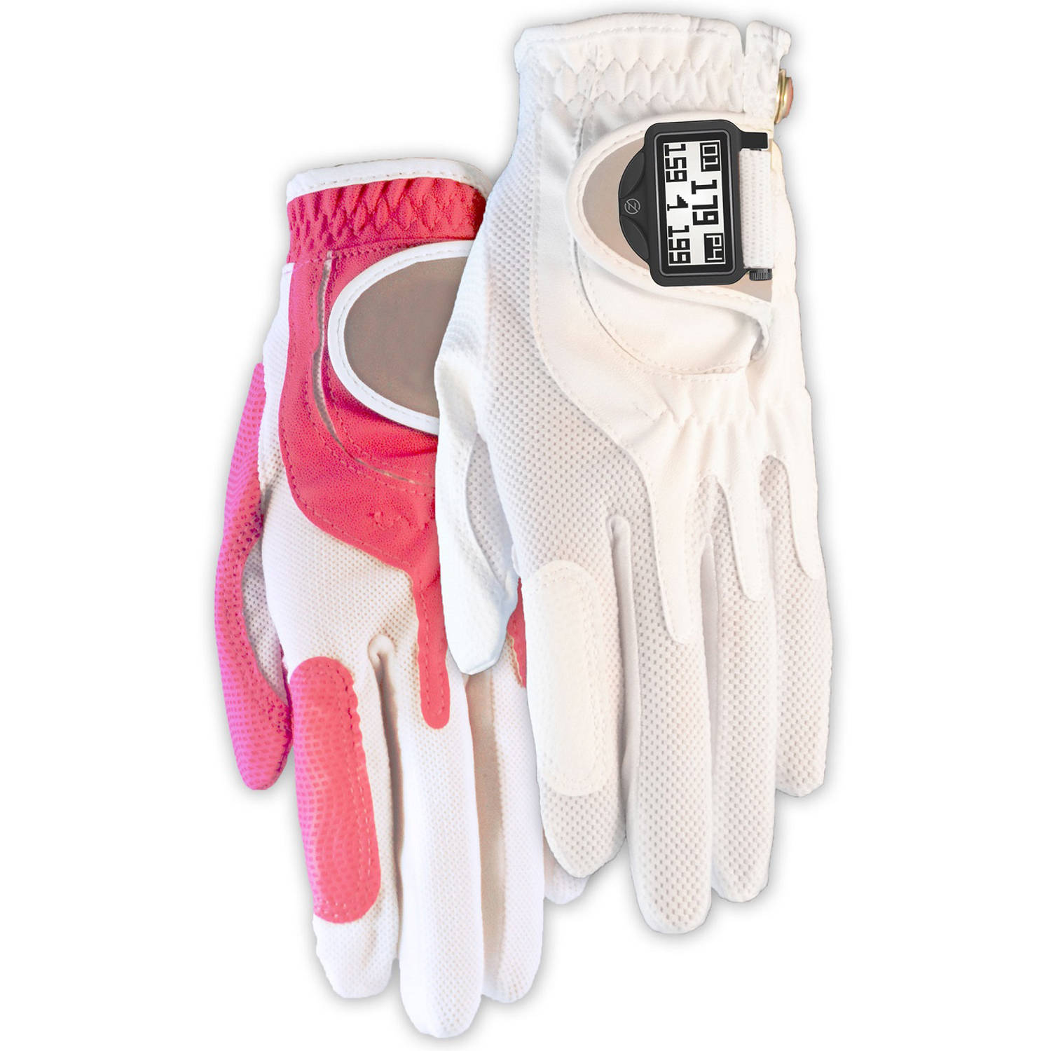 Zero Friction Women's Distance Pro GPS Golf Glove Pair, LH