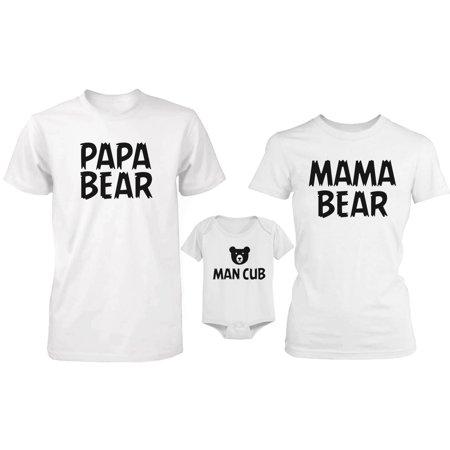 Bear Family Family Matching Shirts and - Family Bears