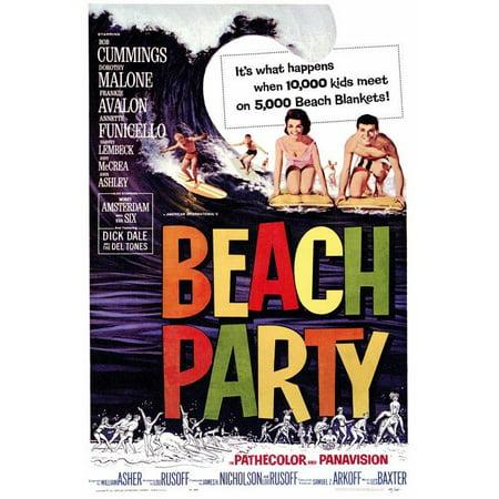 Teen Beach Movie Mckenzie Costume (Beach Party POSTER (27x40))