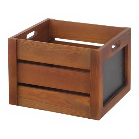 Better homes and gardens wooden decorative crate - Decorative wooden crates ...