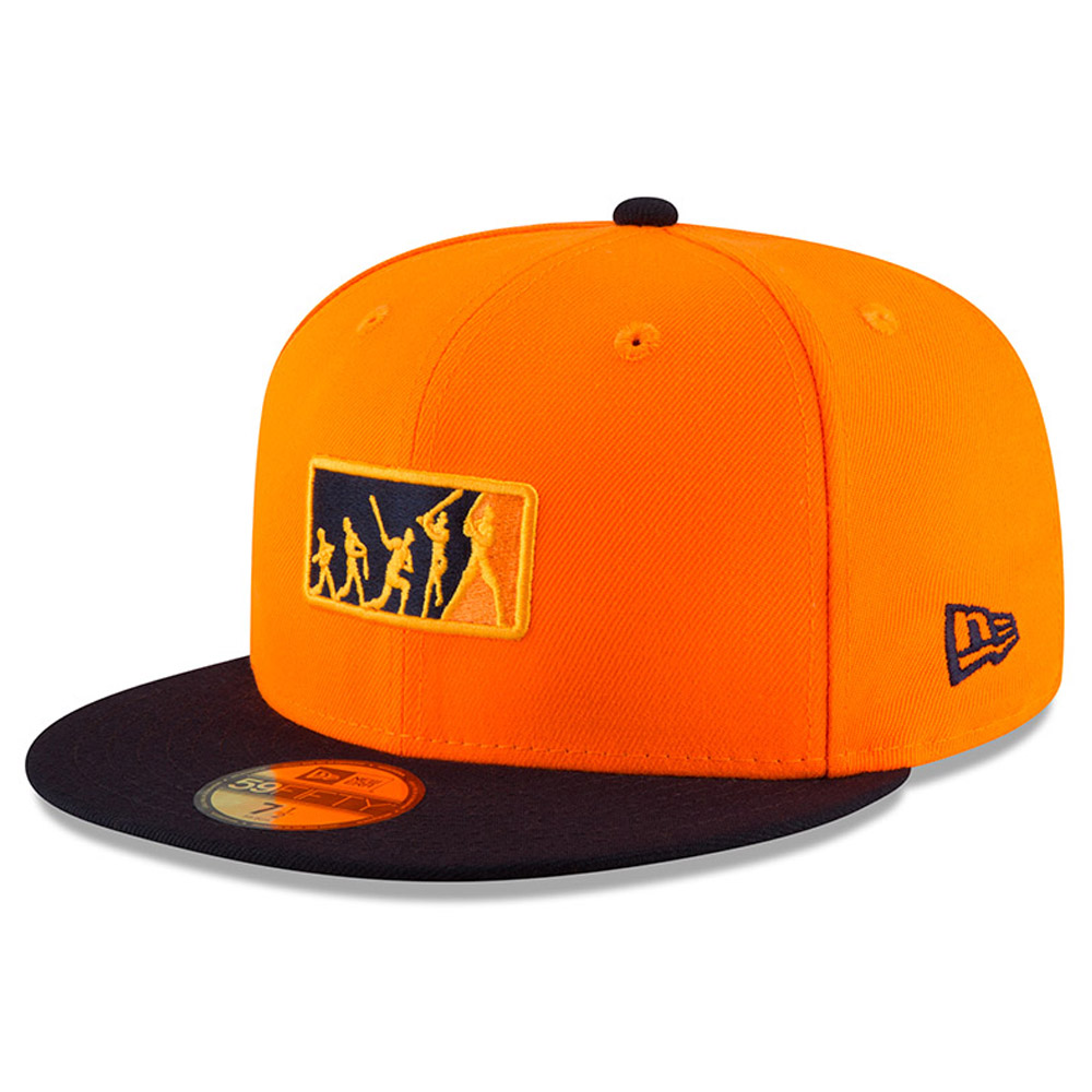 Houston Astros New Era 2018 Players' Weekend Team Umpire 59FIFTY Fitted Hat - Orange/Navy