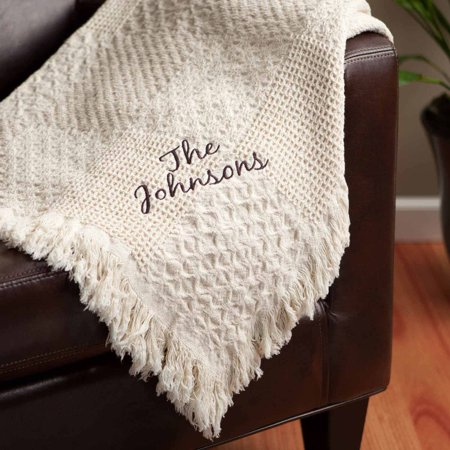Personalized Throw - Woven Script (Personalized Daughter Throw)