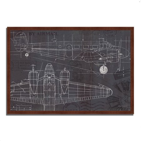 - Plane Blueprint I by Marco Fabiano, 32