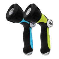 2-Pack Aqua Joe One Touch Adjustable Hose Nozzle with Smart Throttle (AJHN100-QC-2-BLU)