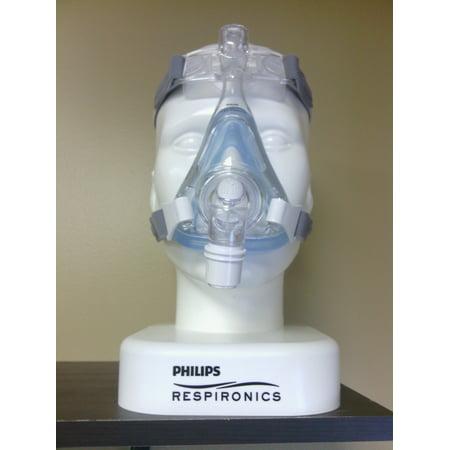 MEDIUM AMARA GEL FULL FACE CPAP MASK WITH HEADGEAR