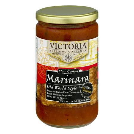 (2 Pack) Victoria Marinara Sauce Old World Style, 24.0 (Merlot Sauce)