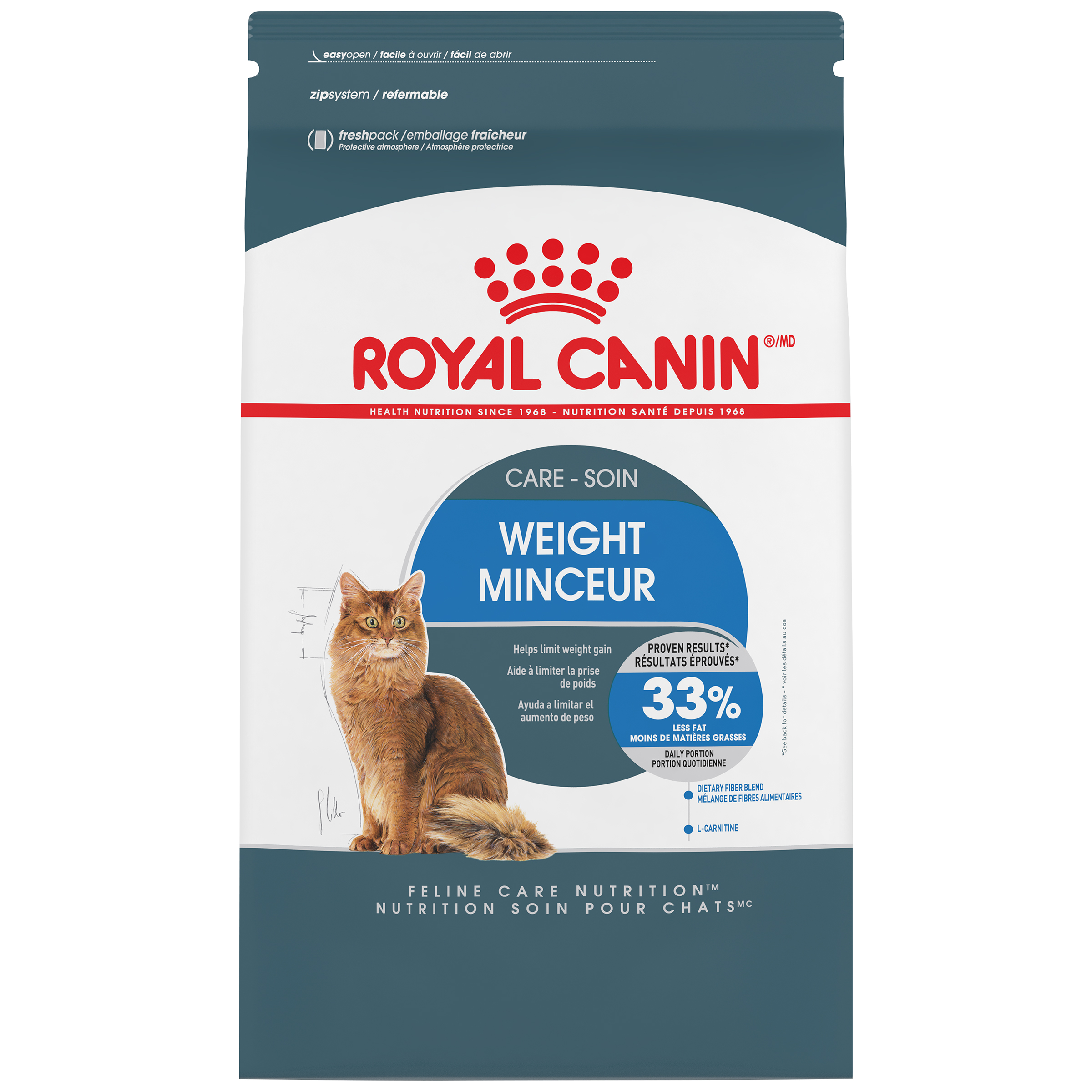 Royal Canin Weight Care Dry Cat Food, 14 lb