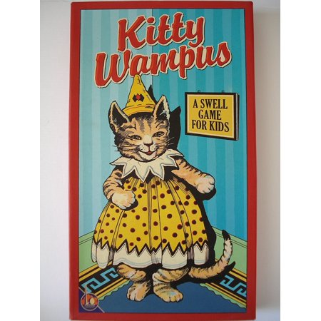 Kitty Wampus 1930s Classic Childrens Board Game by (Hello Kitty Neoprene Game)