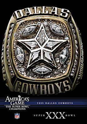 NFL America's Game: Dallas Cowboys Super Bowl XXX (DVD) by Willette Acquisition Corp.