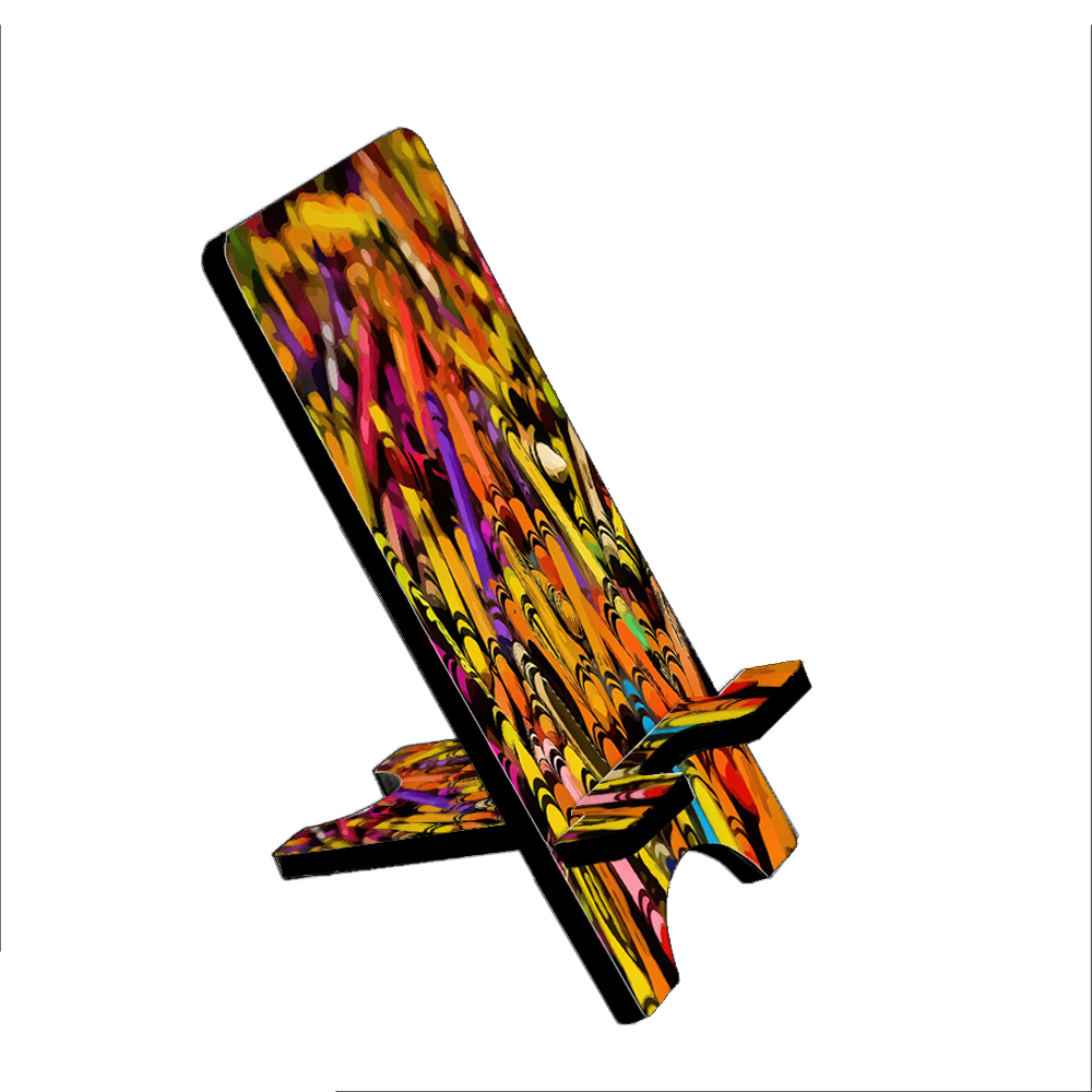 Color Crayons - KuzmarK Folding Stand fits iPad Mini iPhone Samsung Galaxy