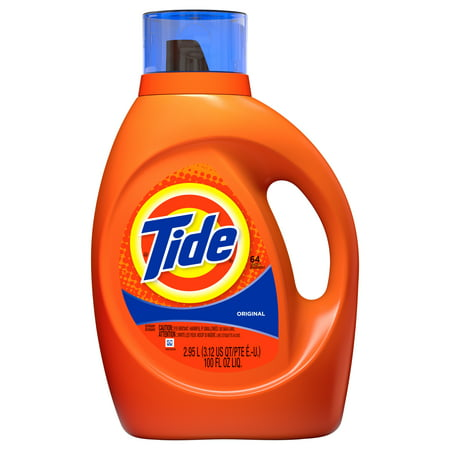 Tide Original Scent Liquid Laundry Detergent, 64 loads, 2.95