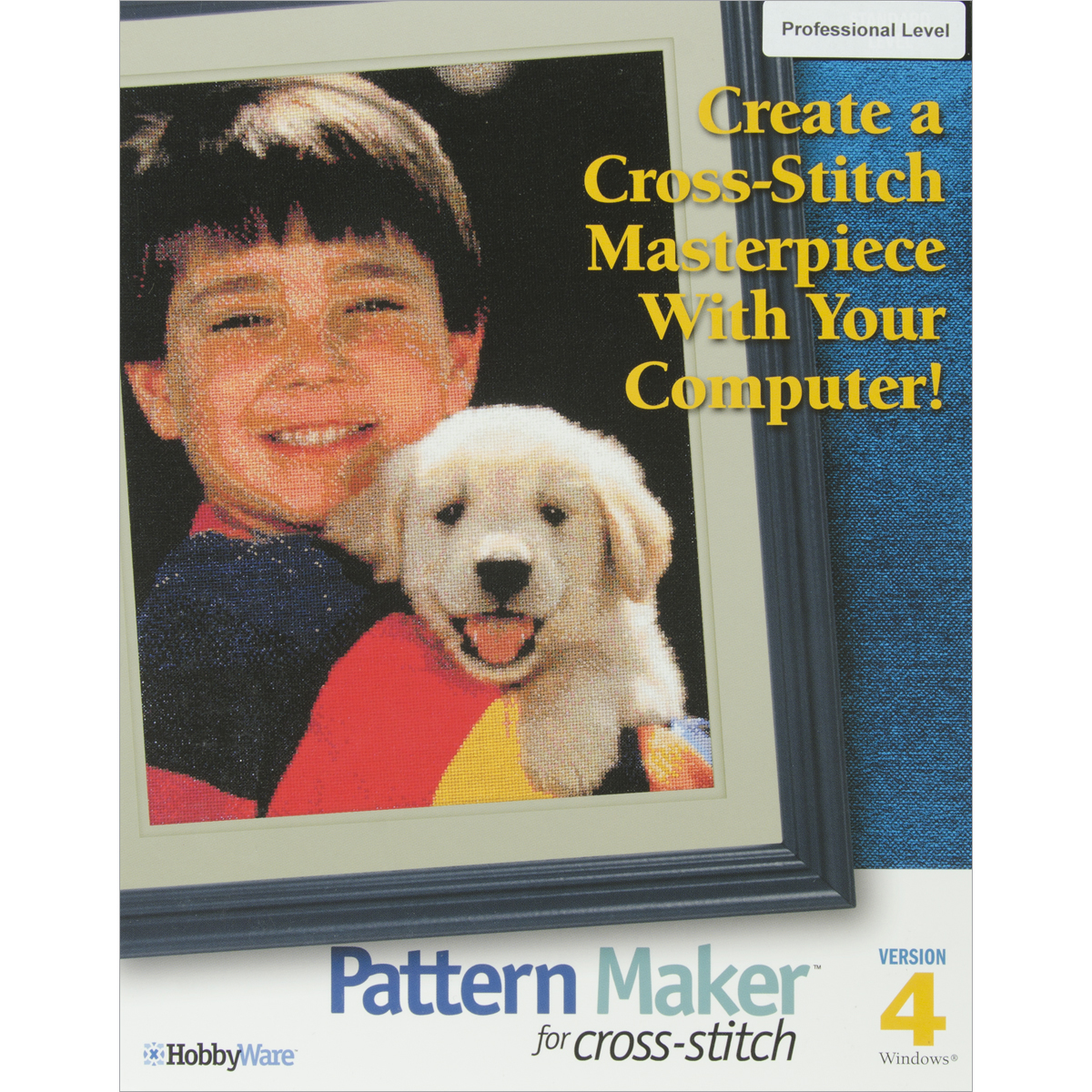 Pattern Maker Cross Stitch Software, Professional Version