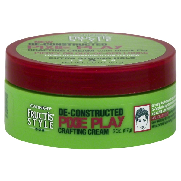 Garnier Fructis Style De-Constructed Pixie Play Crafting Cream, 2 oz