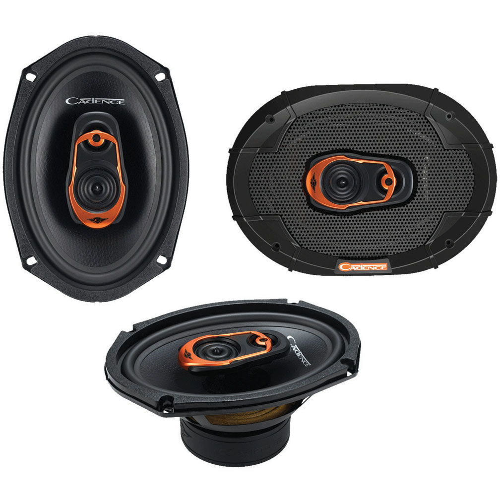 Cadence QRS69 Speaker - 100 W RMS - 250 W PMPO - 2-way - ...