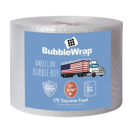 - Bubble Wrap Cushioning - 175 ft x 12 in By American Bubble Boy