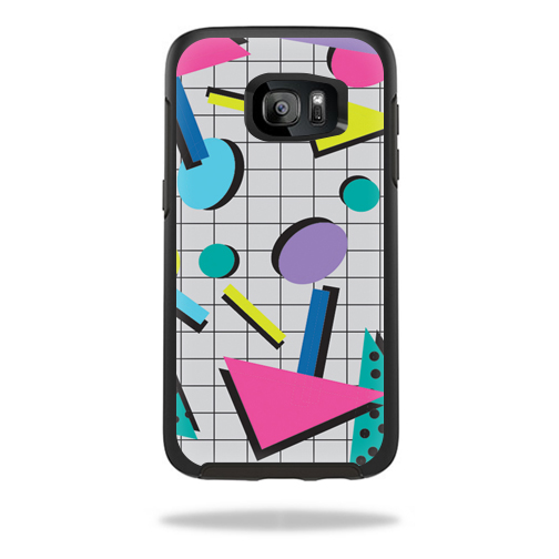 MightySkins Protective Vinyl Skin Decal for OtterBox Symmetry Samsung Galaxy S7 Case wrap cover sticker skins Awesome 80s