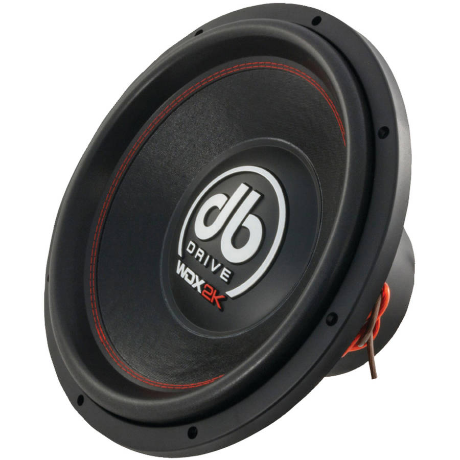 DB Drive WDX15 2K WDX Series Competition Subwoofer, 15""