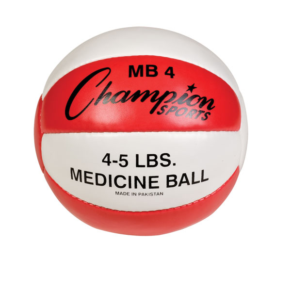 4-5lb Leather Medicine Ball