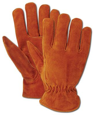 Magid Glove & Safety Mfg TB441ETL Men's Suede Work Gloves, Large