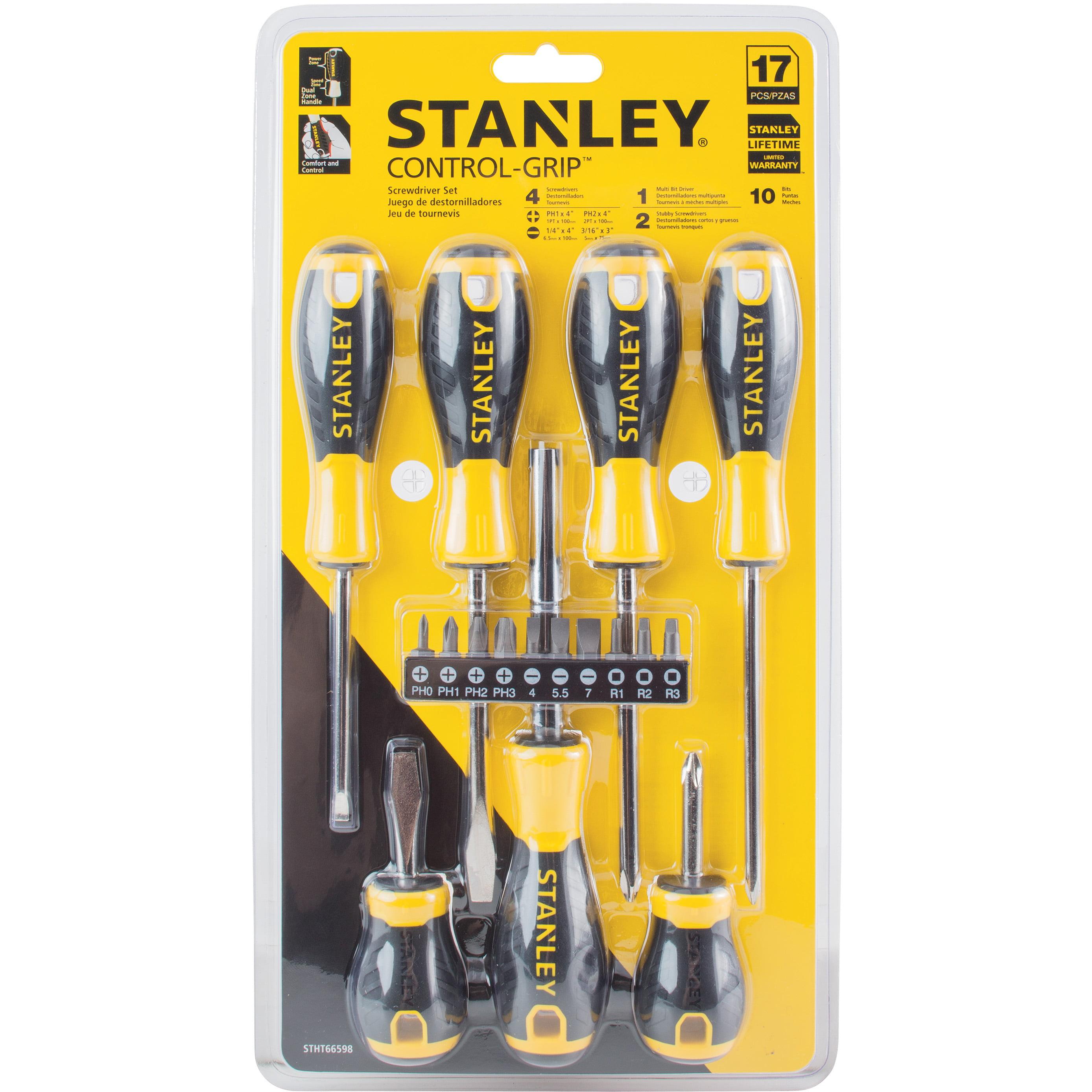 Stanley STHT66598 17 Piece CG Screwdriver Set by Stanley Black & Decker