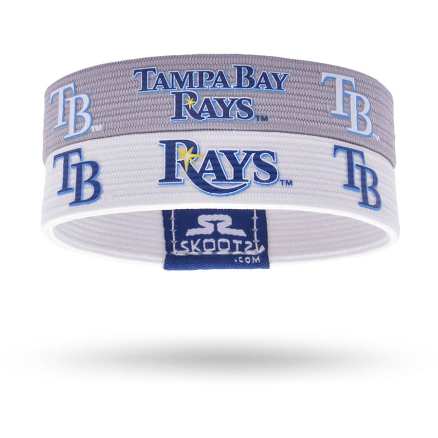 NHL Tampa Bay Lightning Silicone Rubber Bracelet 2-Pack
