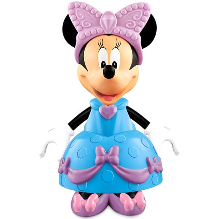 Fisher-Price Disney's Stylin' Minnie Ballroom Blue, Style Minnie with snap and fit clothing By FisherPrice ()