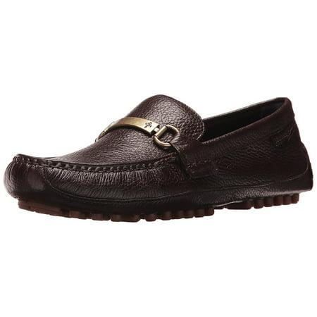 Cole Haan Men's Provincetown Bit Driver II Loafer, Brown Pebbled, 11.5 Medium US (Cole Haan Medium Zip)