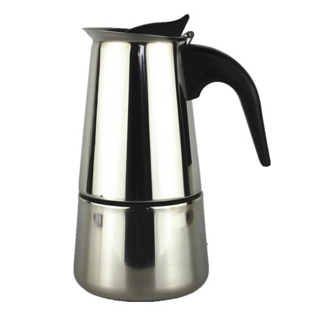 Kitchen Sense Stainless Steel Coffee Maker 6 Cup (Best Way To Clean Your Coffee Maker)
