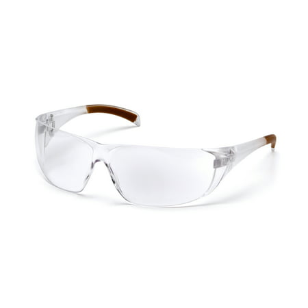 Pyramex Safety Products Carhartt Billings Safety Glasses Clear Lens With Clear Temples