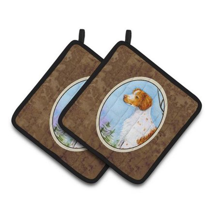 Carolines Treasures SS8663PTHD Setter Pair of Pot Holders, 7.5 x 3 x 7.5 in. - image 1 de 1
