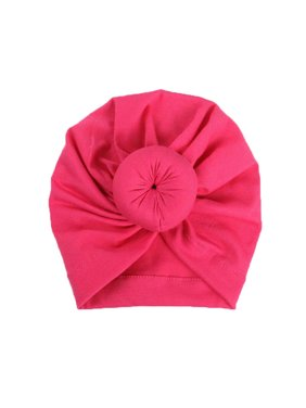 US Baby Newborn Girl Infant Toddler Bowknot Beanie Cute Hat Hospital Cap Comfy