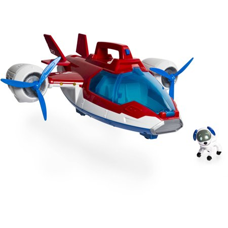 paw patrol lights and sounds air patroller plane - walmart