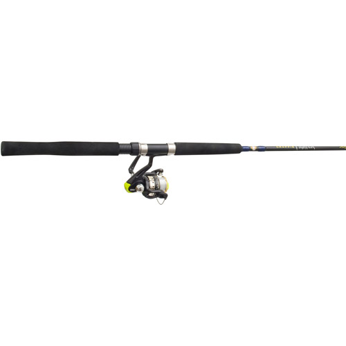 Zebco Crappie Fighter Spin Combo, 12', 2-Piece Light
