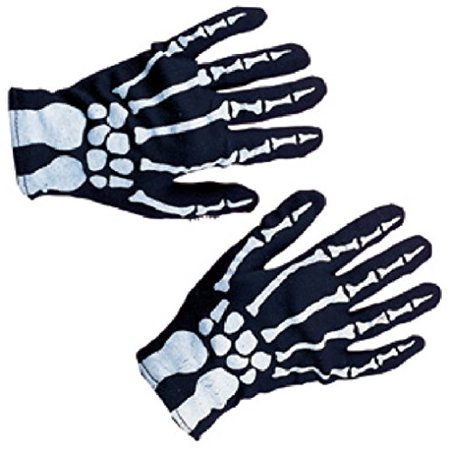 Rubies Costume Co Child Skeleton Gloves - Child Glow In The Dark Skeleton Costume