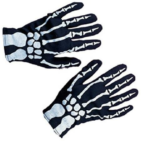 Rubies Costume Co Child Skeleton Gloves Costume